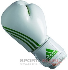 Box-Fit Boxing Glove, white/green (ADIBL04/A-W/GREEN)