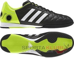 Football shoes 11nova IN BLACK1/RUNWHT/SOLSLI (F33137)