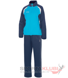OPEN MICRO. WOMAN TRACKSUIT NAVY-SKY BLUE (2110.22.2023)