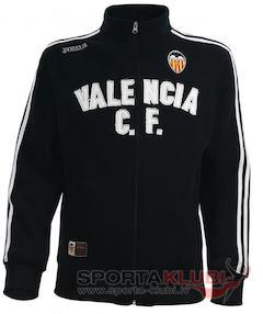 VALENCIA SWEATSHIRT BLACK-GREY WITH ZIPPER (VA.411021.11)