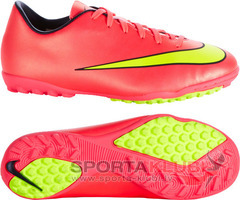 Kids football boots JR Mercurial Victory V TF (651641-690)