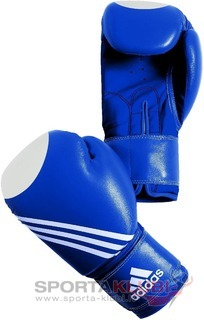 Training Wako Boxing Glove, blue with white target (ADIBT21-BLUE)